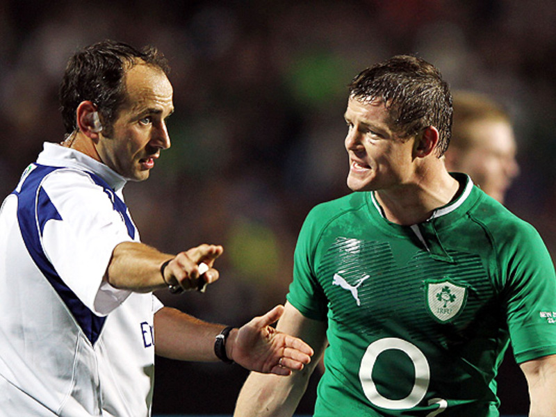 Large brian o driscoll with ref 6