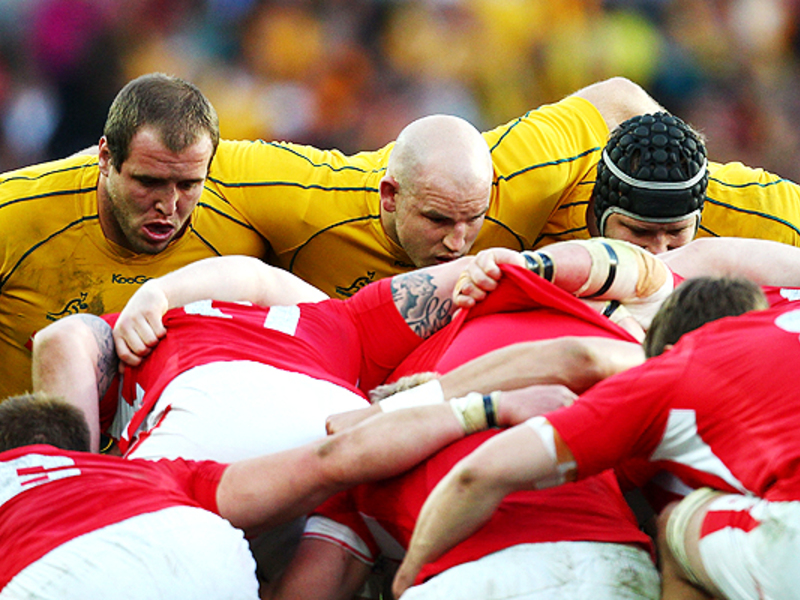 Large wallaby scrum v wales 630