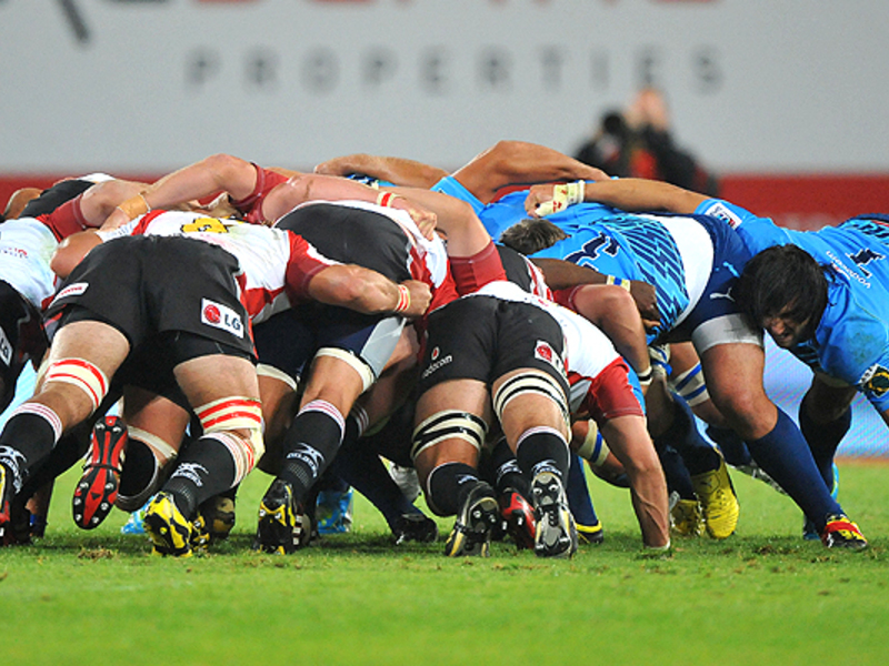 Large lions v bulls scrum 630