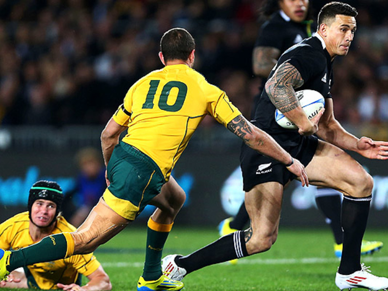 Large sonny bill williams runs 63