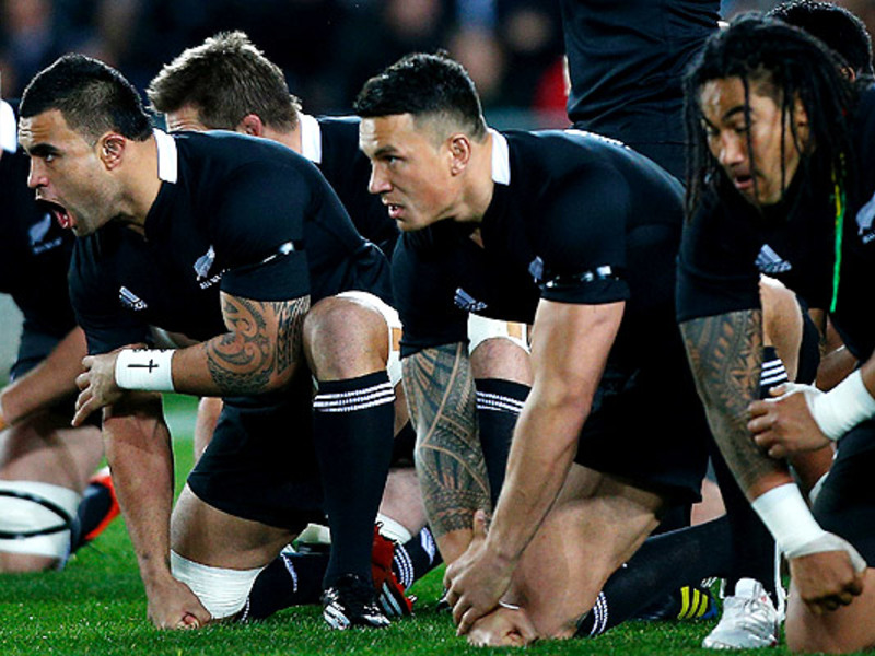 Large sonny bill williams haka. 6