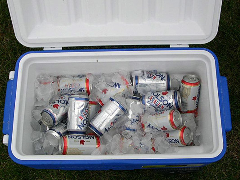 Large beer cooler 2 630