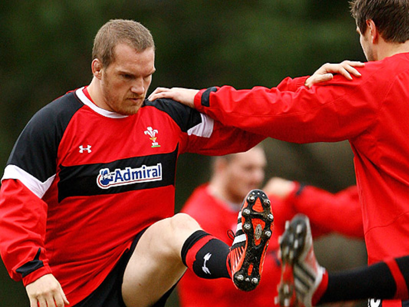 Large gethin jenkins stretches 63