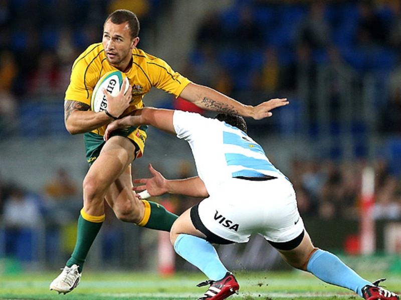 Large quade cooper tackled v arg