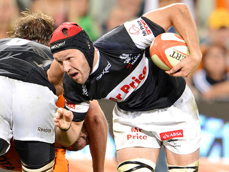 Large jacques botes sharks charge