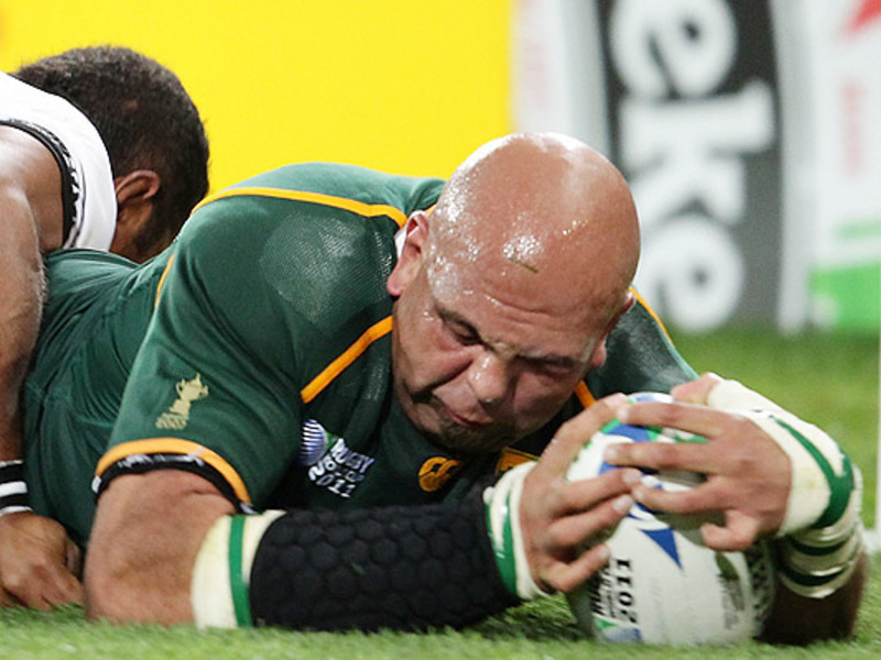 Large gurthro steenkamp boks try