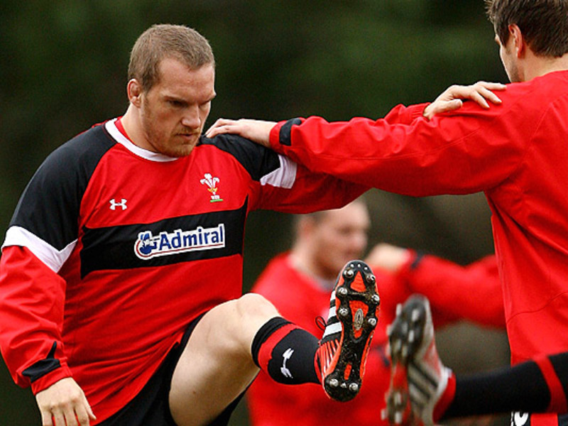 Large gethin jenkins wales trains