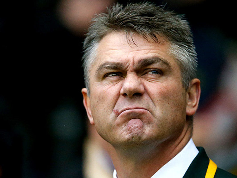 Large heyneke meyer funny face