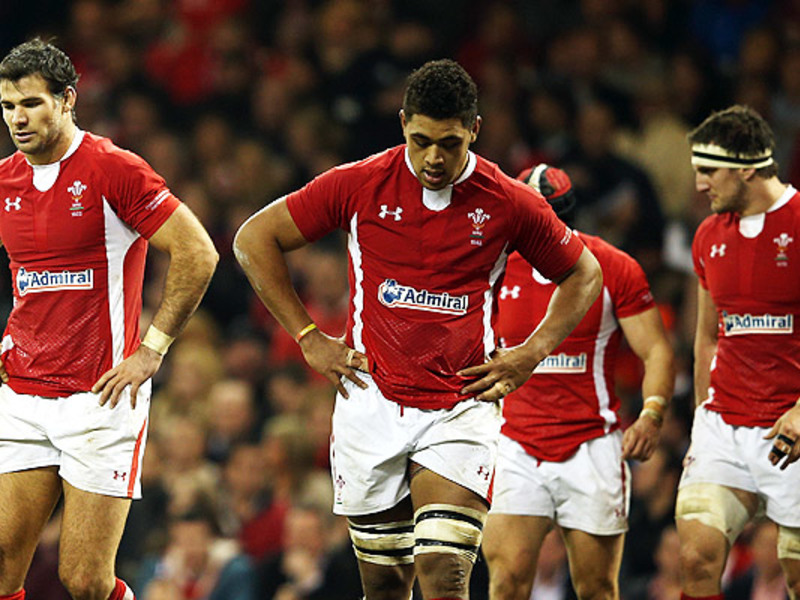 Large wales dejected