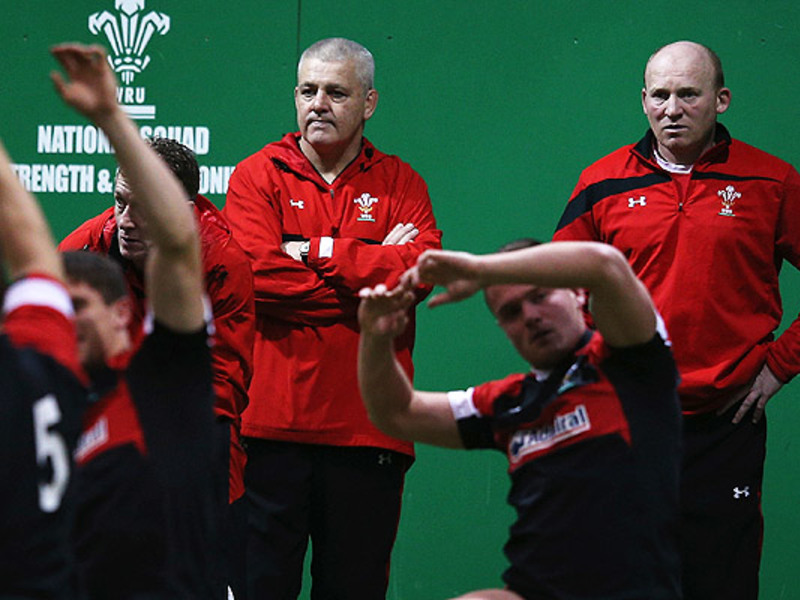Large warren gatland looks