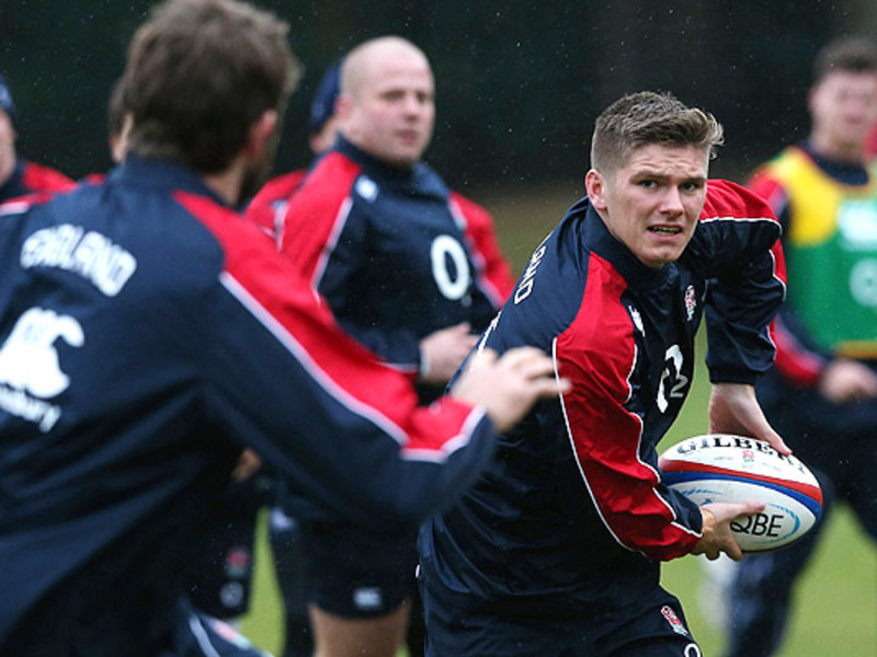 Large owen farrell eng training