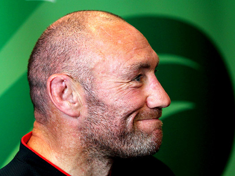 Large robin mcbryde face