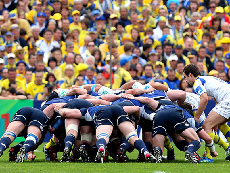 Large clermont v leinster
