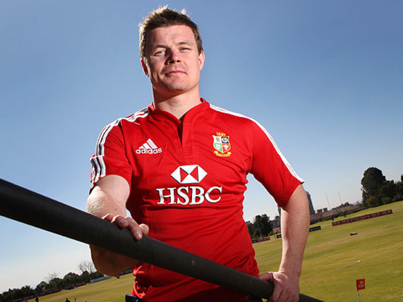 Large brian o driscoll lions prof