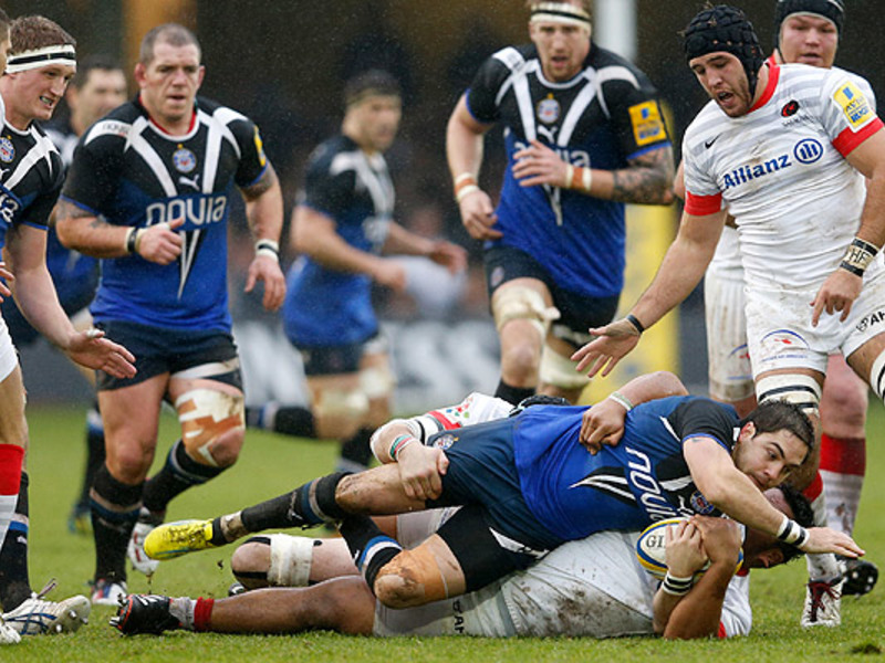 Large bath v saracens