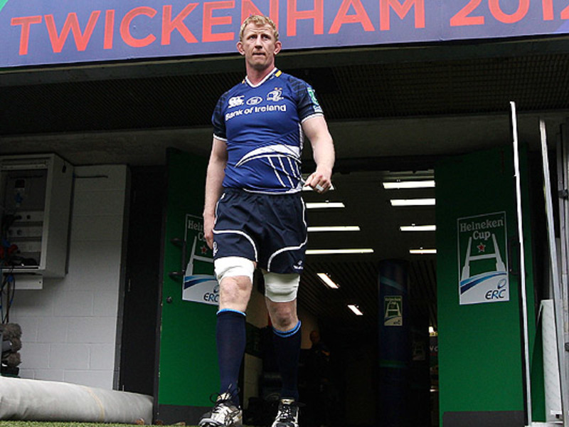 Large leo cullen leinster walks