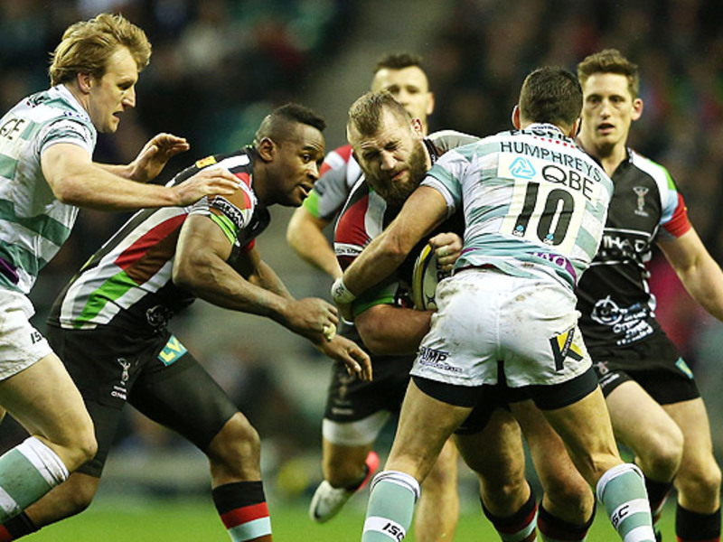 Large harlequins v london irish