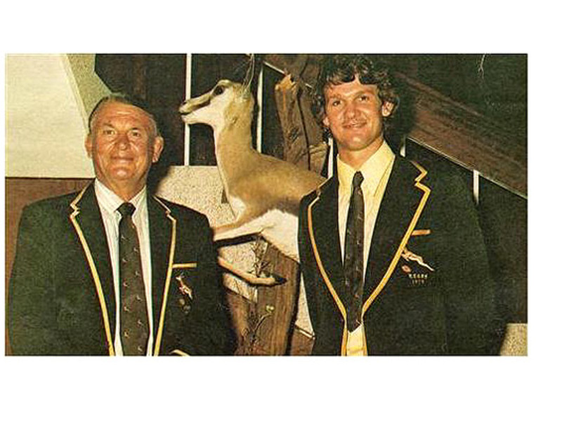 Large felix and morne du plessis