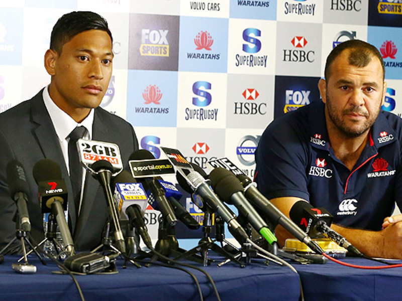 Large israel folau media