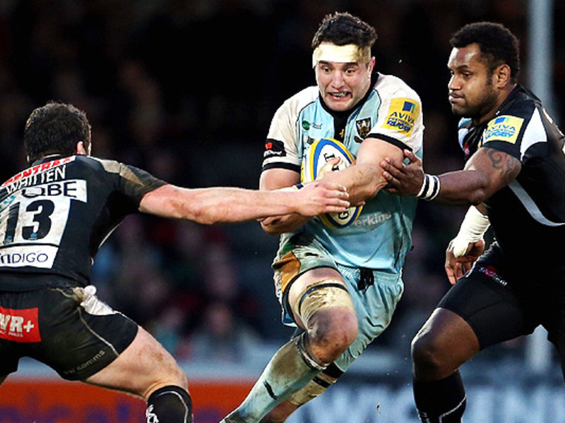 Large exeter chiefs v northampton