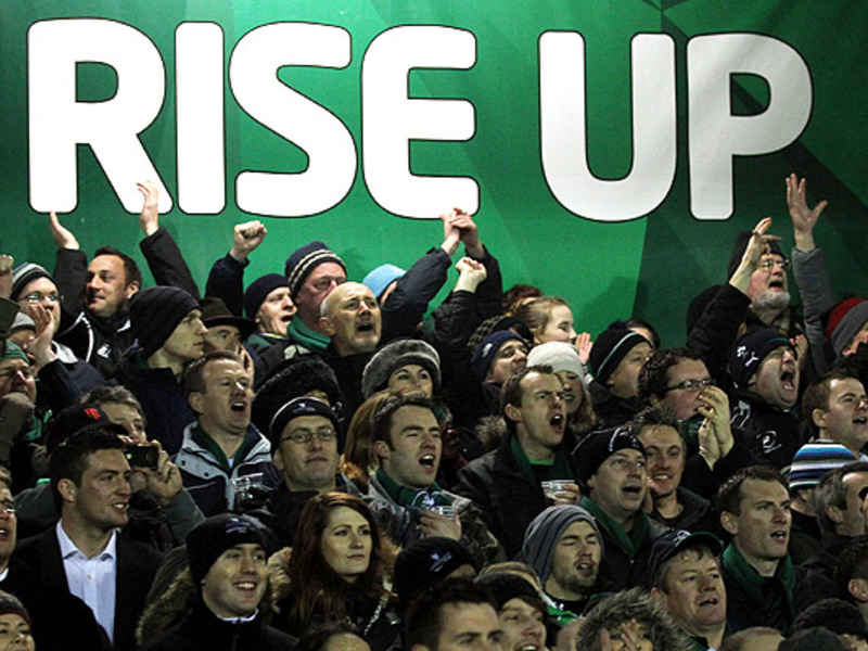 Large connacht fans