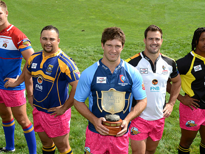Large varsity shield captains