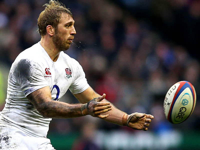 Large chris robshaw england ball