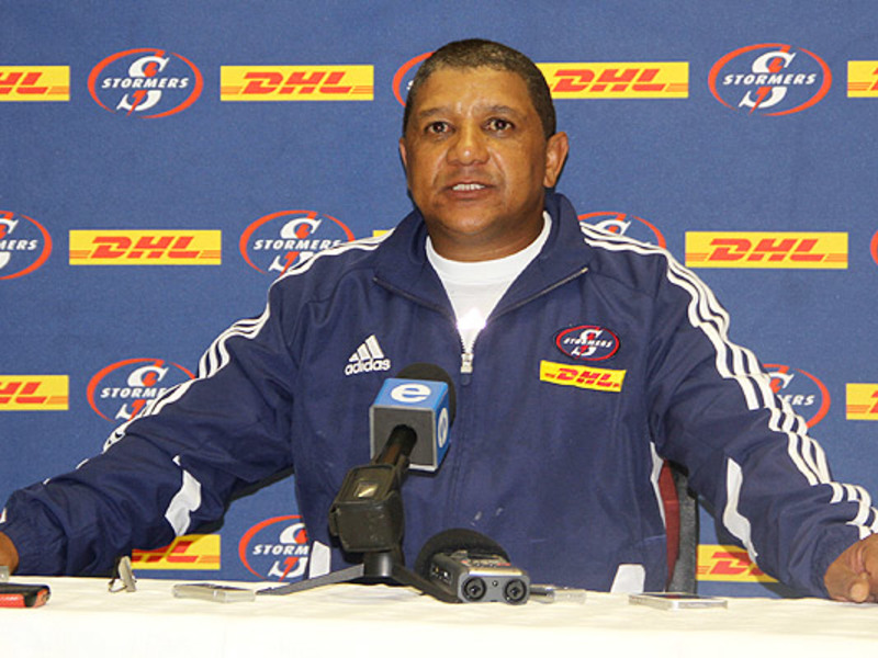 Large allister coetzee media
