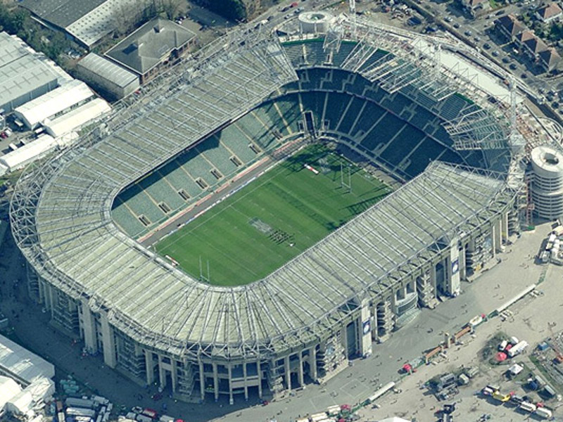 Large twickenham stadium