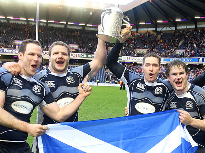 Large calcutta cup trophy