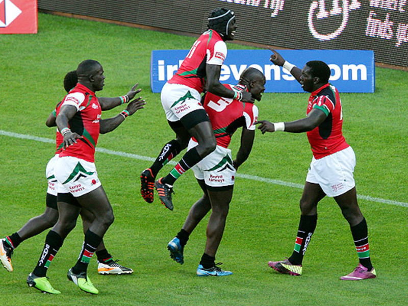 Large willy ambaka celebrate 7s
