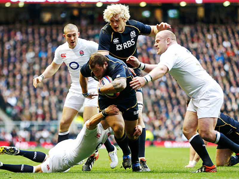 Large england v scotland