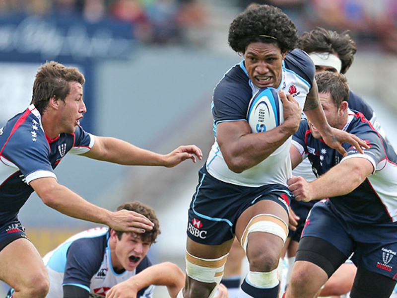 Large waratahs v rebels