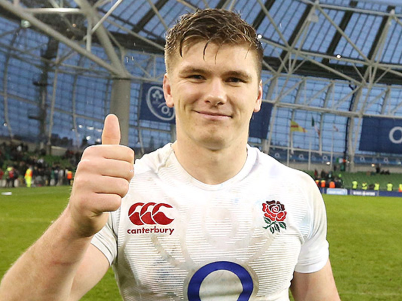 Large owen farrell england thumbs