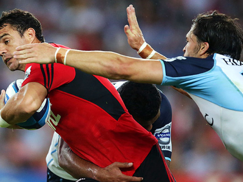 Large dan carter tackled v tahs