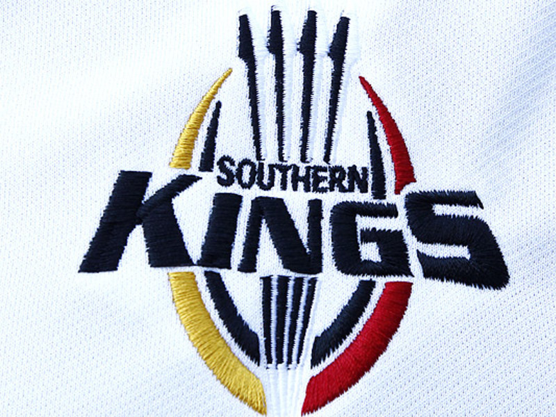 Large southern kings logo white