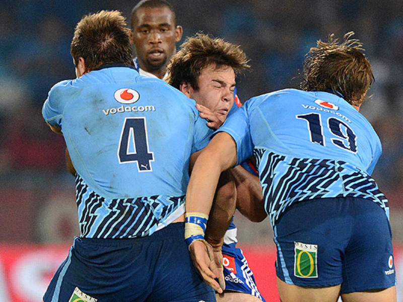 Large bulls v stormers tackle