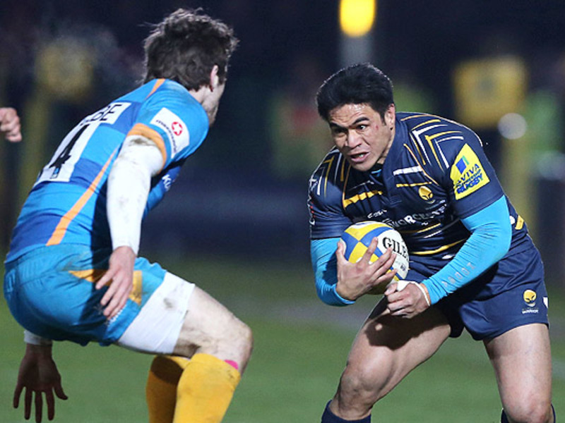 Large worcester warriors v london