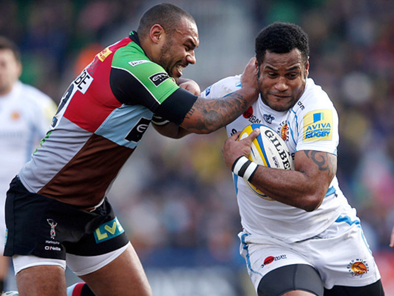 Large harlequins v exeter chiefs