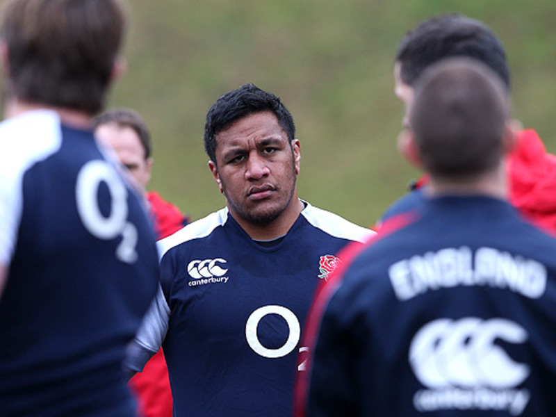 Large mako vunipola england train