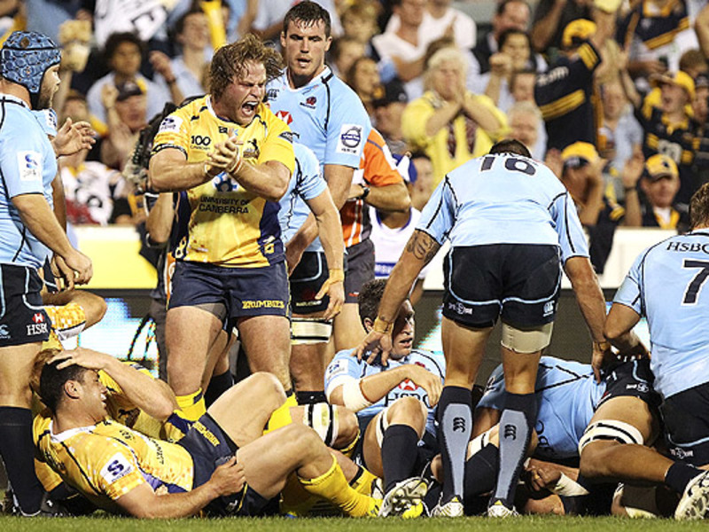 Large brumbies v waratahs