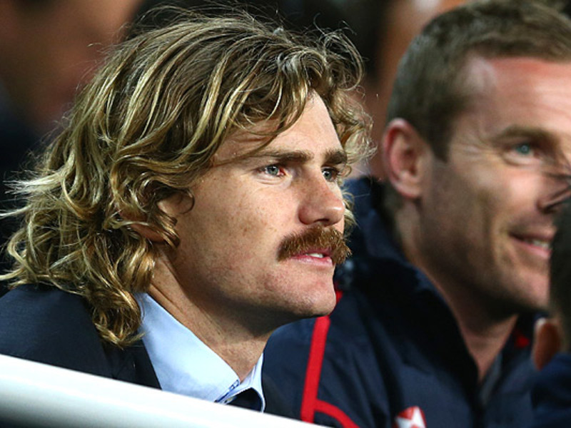 Large berrick barnes in stands