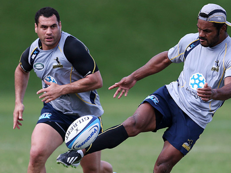 Large george smith brumbies train