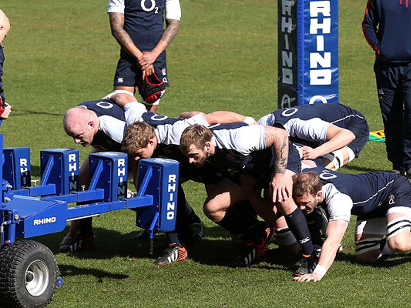 Large england scrum