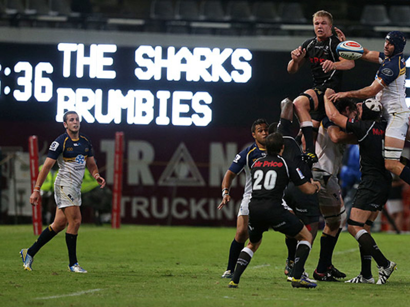 Large sharks v brumbies score