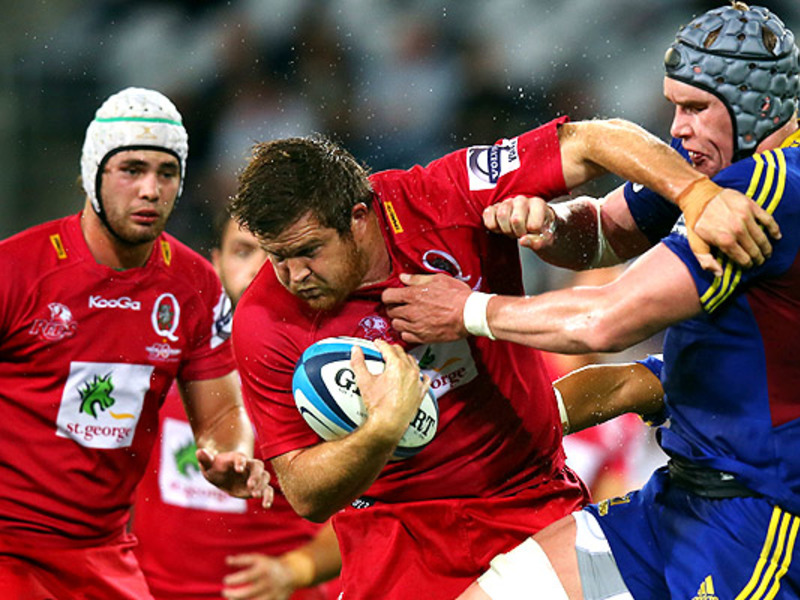 Large highlanders v reds