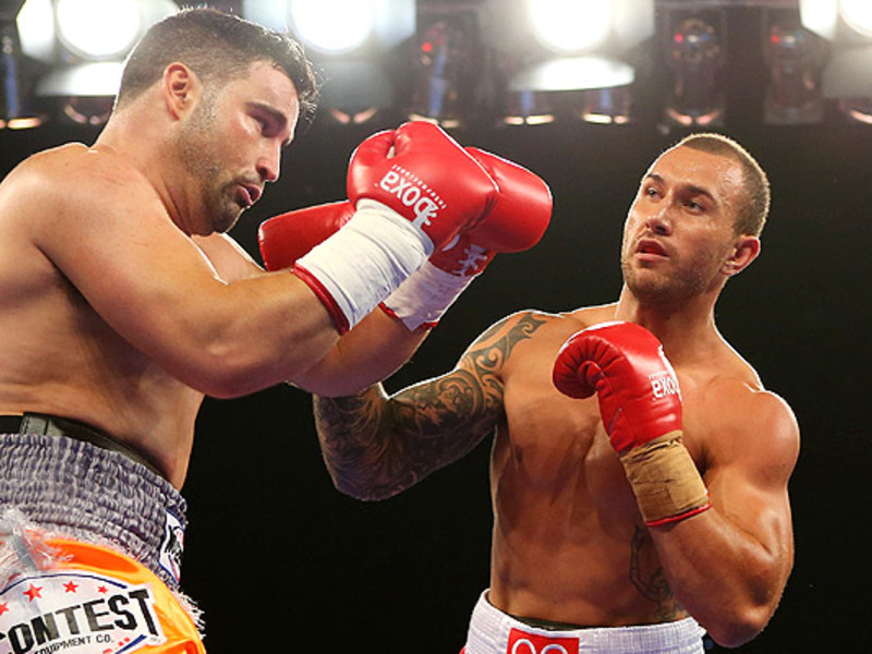 Large quade cooper boxing