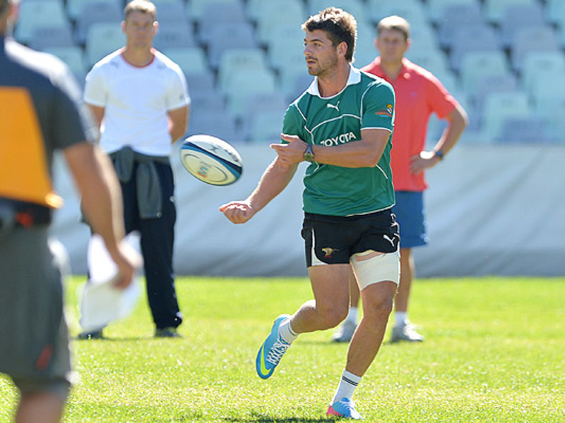 Large willie le roux cheetahs pas