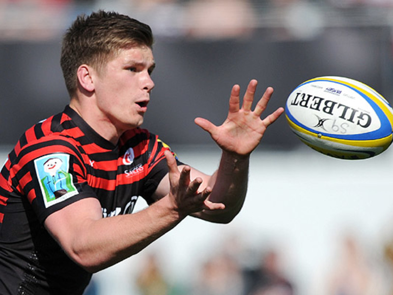 Large owen farrell saracens ball