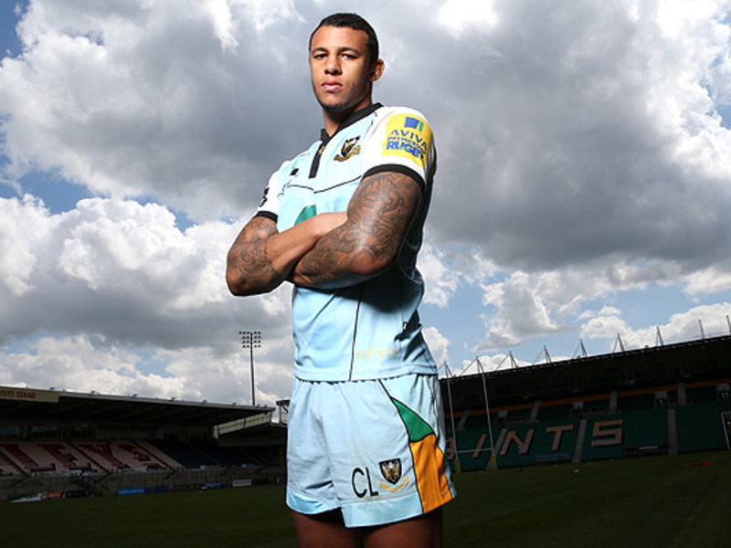 Large courtney lawes saints